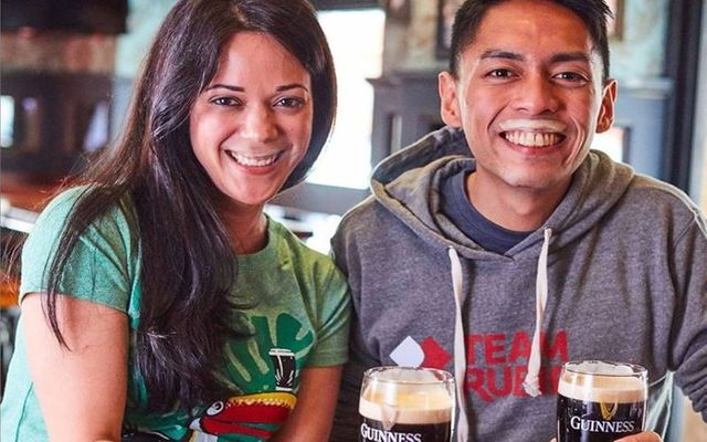 Two great Guinness #StachforCharity examples