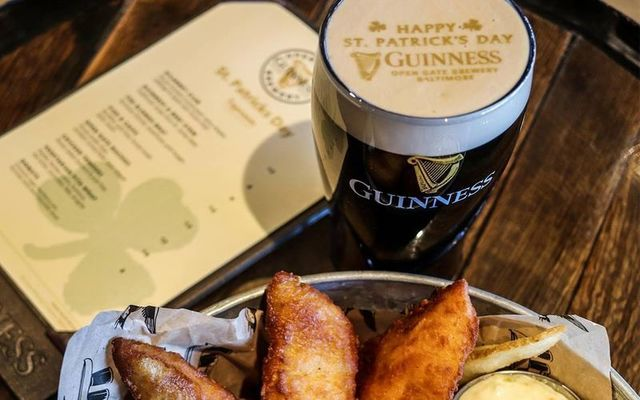 St. Patrick\'s Day at the Guinness US brewery in Maryland will include a special menu and special beers on tap.