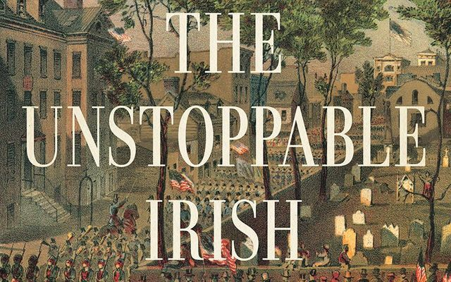 "Artwork from the cover of ""The Unstoppable Irish\""."