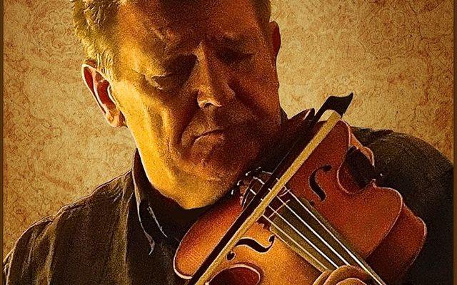 Master fiddle player Kevin Burke.
