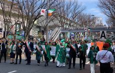 130,000 attend huge St. Patricks Day Parade and Festival in Tokyo, Japan