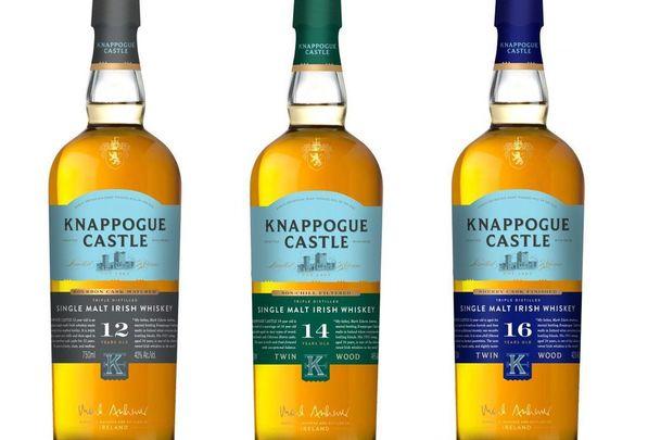 Knappogue Castle single malt Irish whiskey.