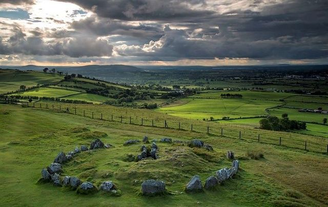 Loughcrew Cairns is home to  a spring equinox phenomenon