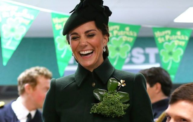 Duchess Kate Middleton received some hilarious parenting advice on St. Patrick\'s Day