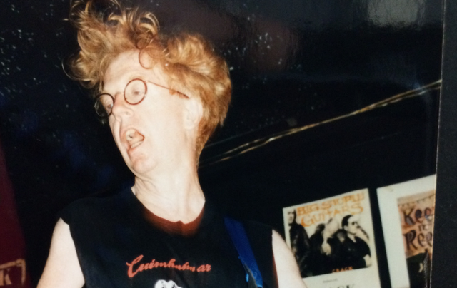 Larry Kirwan with the Black 47 in Paddy Reilly\'s.