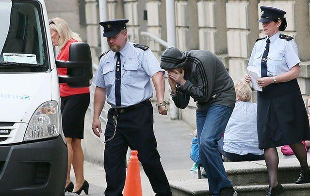 Eric Eoin Marques leaving court in Dublin.