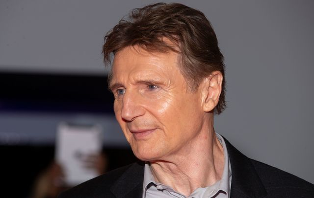 Irish actor Liam Neeson.
