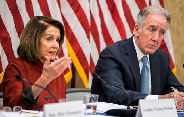 Nancy Pelosi and Richard Neal are set to visit Ireland this month with a delegation of American politicians.