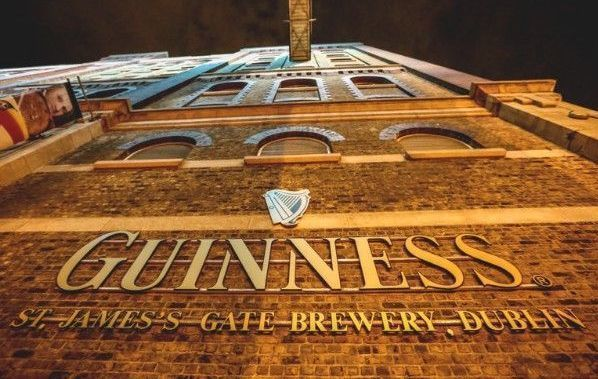 Guinness Storehouse in Dublin.