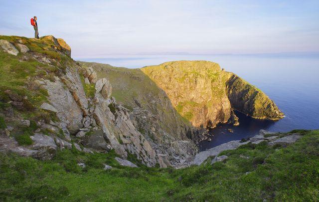 Teelin Bay in Co Donegal.