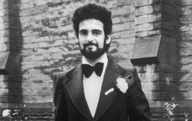 British serial killer Peter Sutcliffe, \'The Yorkshire Ripper,\' on his wedding day, August 10, 1974.