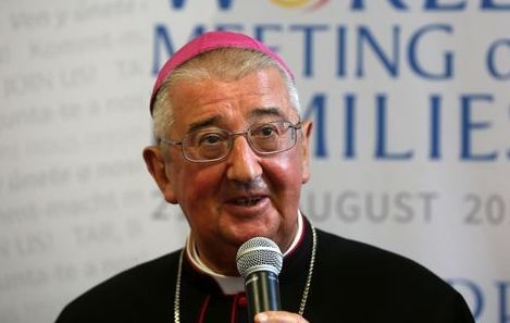 Archbishop of Dublin Diarmuid Martin.