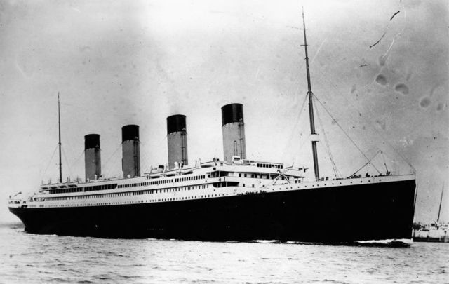 The Titanic officially set sail on this day, April 10, in 1912.