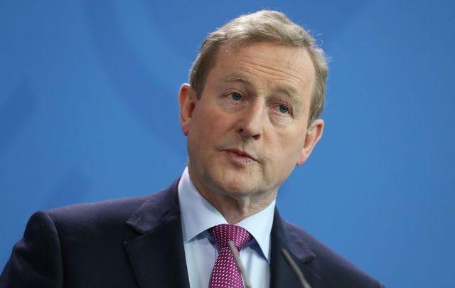 Former Irish Prime Minister Enda Kenny.