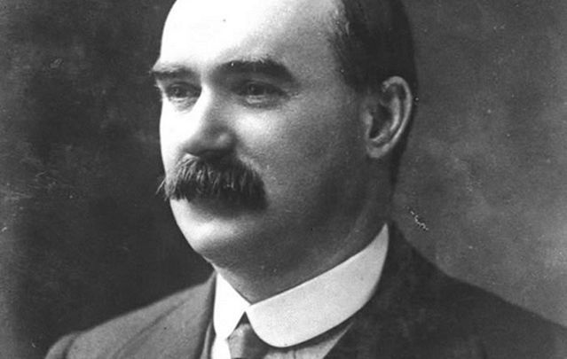 Irish Republican leader James Connolly.