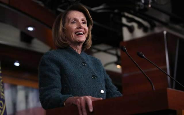 US Speaker of the House Nancy Pelosi.