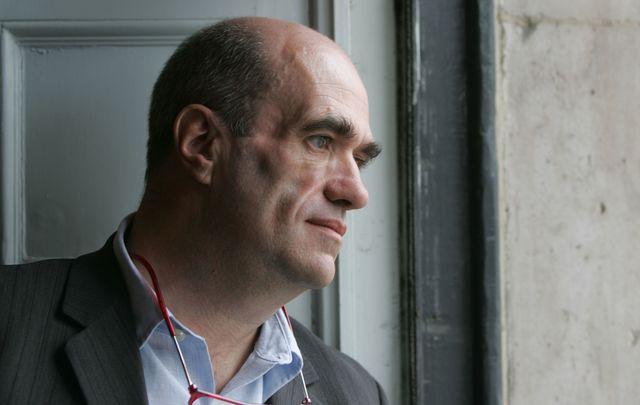 Irish author Colm Toibin.