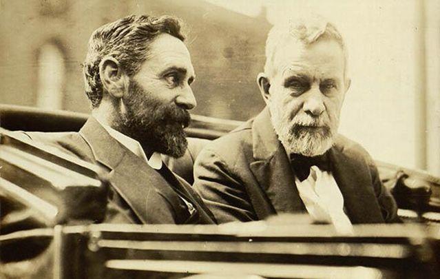 Roger Casement and John Devoy.