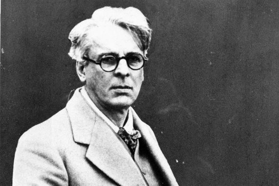 Renowned Irish poet WB Yeats.