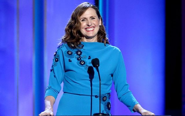 Irish American comedy star Molly Shannon.