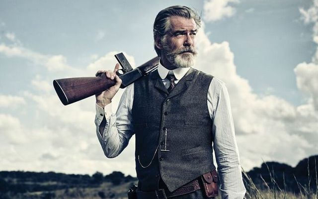 Pierce Brosnan in The Son.