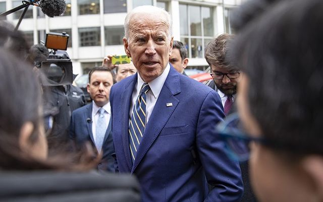 Democrat 2020 Presidential candidate Joe Biden.