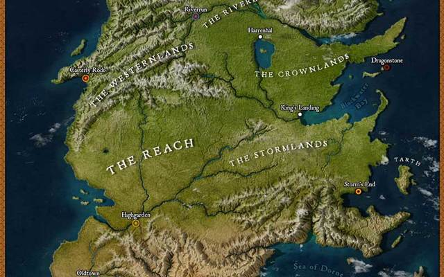 The Lands Of Ice And Fire Map Book