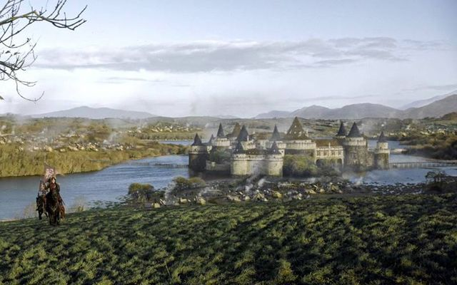 Gosford Castle in Northern Ireland was used as Riverrun in the hit HBO show