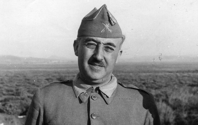 Spanish military dictator General Francisco Franco (1892 - 1975).
