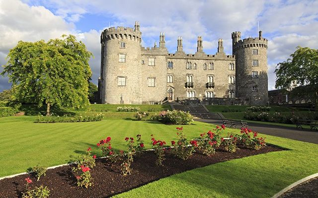 The beautiful Kilkenny Castle.