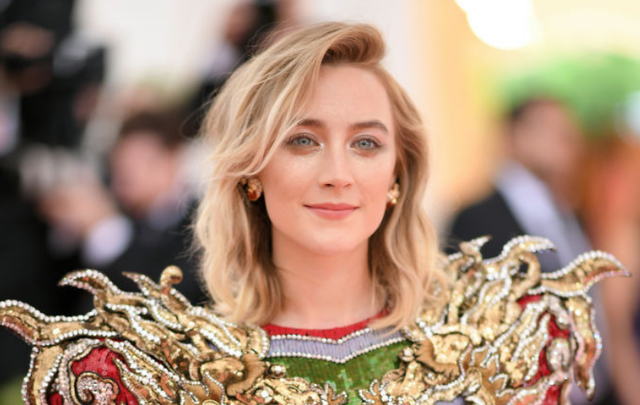 Saoirse Ronan attends The 2019 Met Gala Celebrating Camp: Notes on Fashion at Metropolitan Museum of Art on May 06, 2019, in New York City.