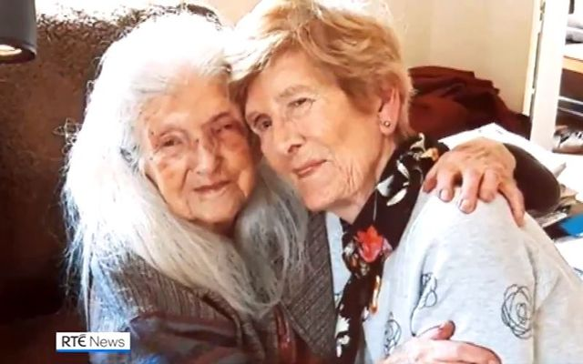 Elizabeth (104) and Eileen (81): Mother and daughter reunited at last.