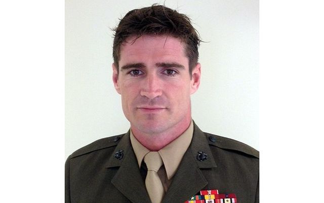 Irish-born SSGT Liam Flynn of US Marine Corps elite.