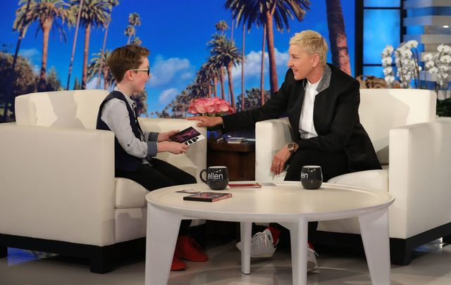 Aiden McCann on The Ellen DeGeneres Show.
