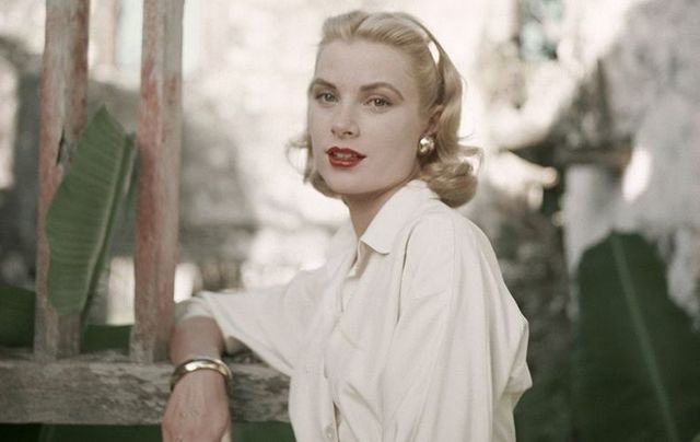 Grace Kelly, aka Princess Grace of Monaco.