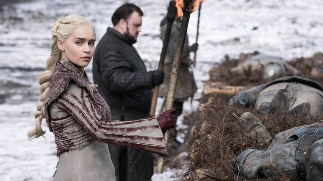 Even Dany looks like she want a petition to remake the final season of Game of Thrones ...