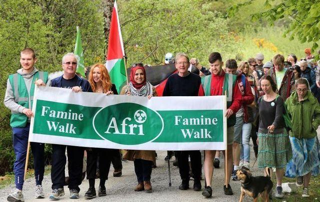 Afri is hosting its 31st annual famine memorial walk this weekend.