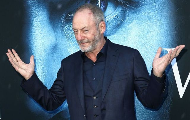 "Actor Liam Cunningham attends the premiere of HBO\'s ""Game Of Thrones\"" season 7 at Walt Disney Concert Hall on July 12, 2017, in Los Angeles, California."