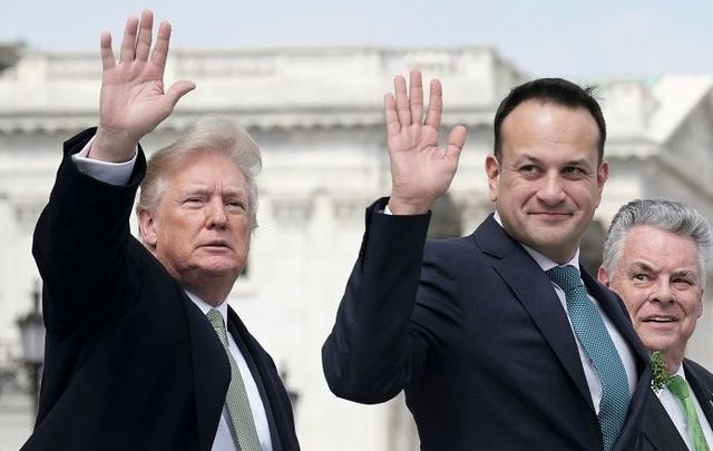 President Trump and Taoiseach Varadkar in 2018. Will the two meet in Ireland in June?