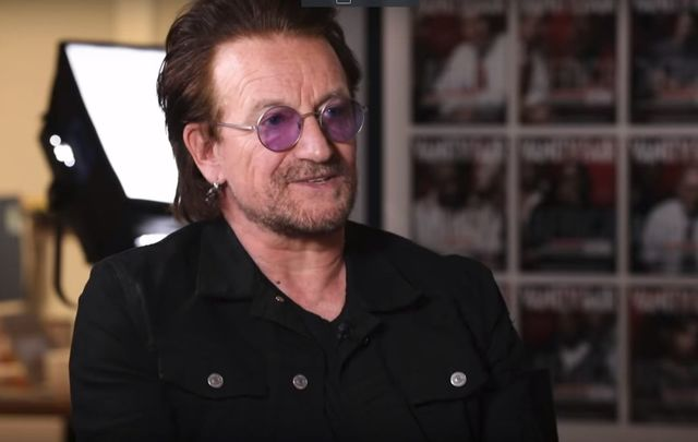U2 frontman Bono, speaking with the Today show on his love of books and reading.