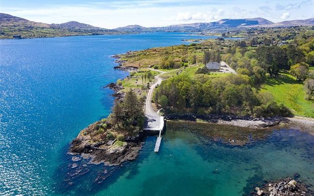 The spectacular property of Otterbank, outside Castletownbere, on the Beara Penninsula, in West Cork.
