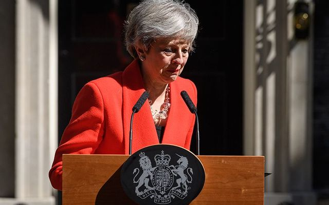 The British Prime Minister Theresa May has formally resigned from her office.