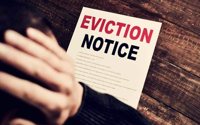 An Irish family of six is facing eviction from their home in New York.