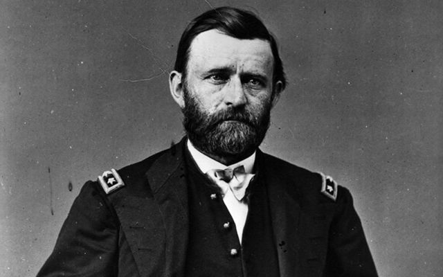 US President Ulysses S. Grant.