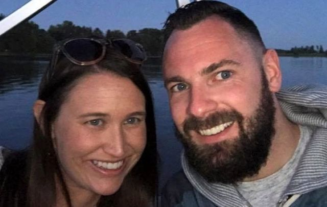 John Heneghan and his wife Caitlin Holtzman died after their car was struck on May 25.