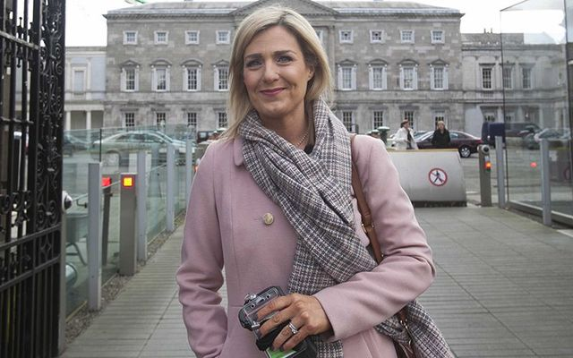 Fine Gael politician Maria Bailey.