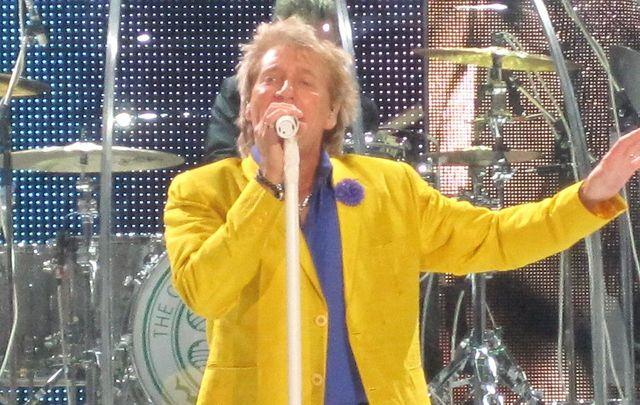 "Rod Stewart performed a rousing rendition of Irish rebel ballad, \""Grace\"" in Cork, Ireland"
