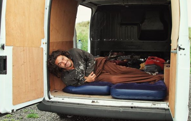 Jason Momoa in Ireland hunting for the perfect pint of Guinness.
