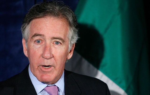 U.S. Rep. Richard Neal (D-MA) speaks at an event also attended by Democratic presidential hopeful Hillary Rodham Clinton (D-NY) and leading Irish Americans at the Phoenix Park Hotel May 8, 2007, in Washington DC. Clinton gave remarks on the recent inauguration of a new Northern Ireland Assembly that features shared power between Protestants and Catholics.