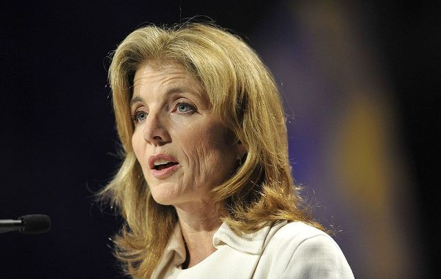 Caroline Kennedy speaks at the 2009 Women\'s Conference held at Long Beach Convention Center on October 27, 2009, in Long Beach, California.